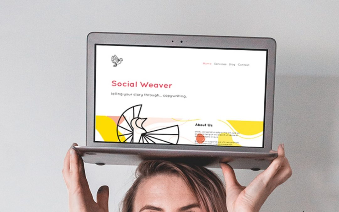 A Bright Website for a Copywriter
