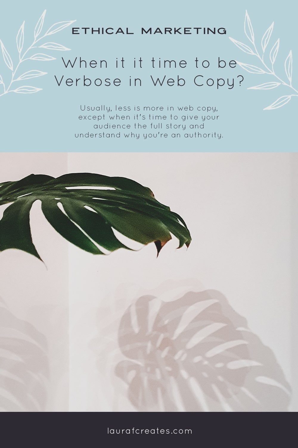 When is it time to be more Verbose in Web Copy?