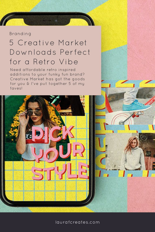 Creative Market Retro Vibes