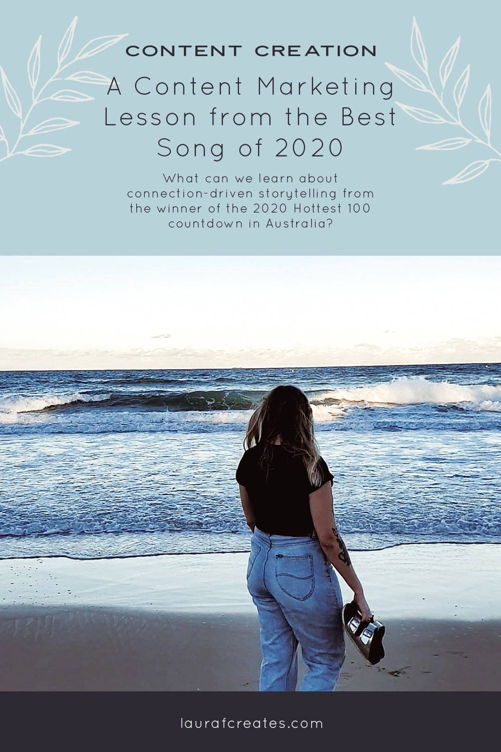 A content marketing lesson from the best song of 2020