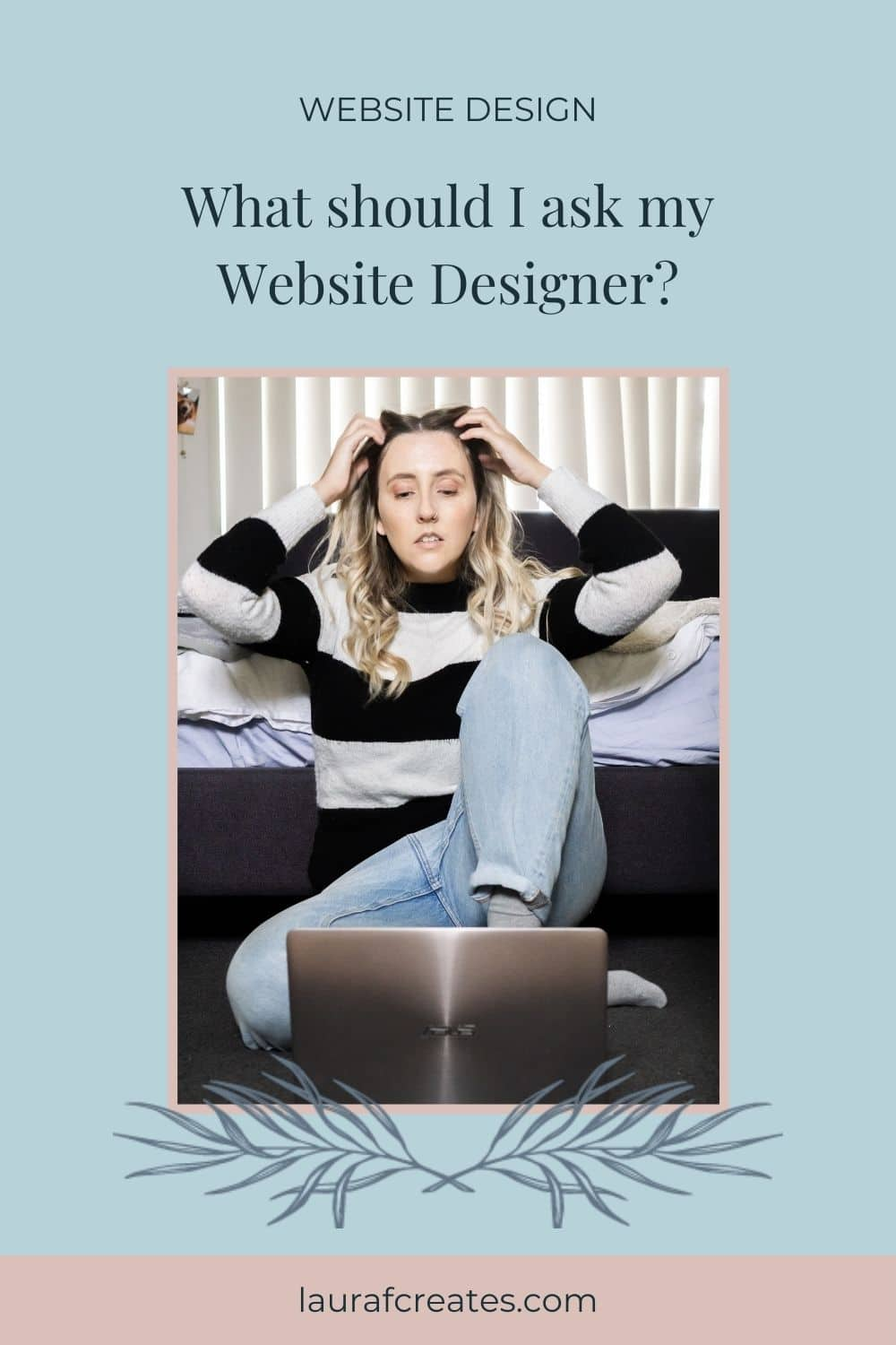 What Questions Should I ask my website designer?