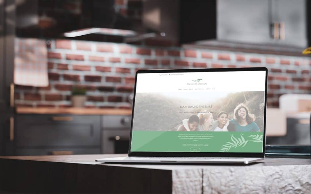 A modern website for a holistic dental clinic